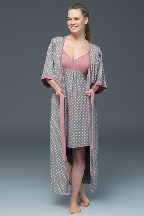 Capot dama Rose Dots - modal
