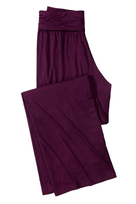 Pantalon confortabil Fashion Bordo