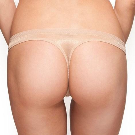Tanga Gossard Glossies Nude