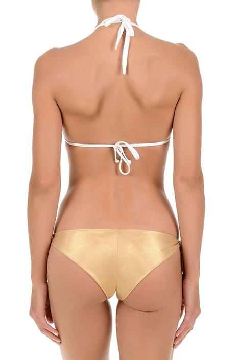 Sutien costum de baie de lux Gold, nu detine balene