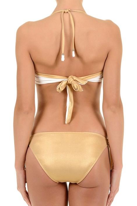 Sutien costum de baie de lux Gold, detine balene