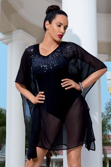 Rochie de plaja de lux din colectia Iconique 6606 Black