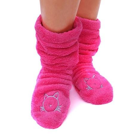 Sosete calduroase Duffy Pink