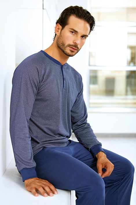 Set barbatesc Valentino, din bumbac - bluza, pantalon