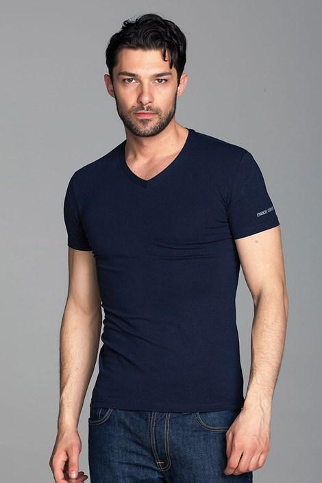 Tricou barbatesc Enrico Coveri ET1501 din bumbac