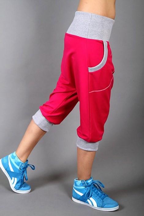 Pantalon sport Electric magenta
