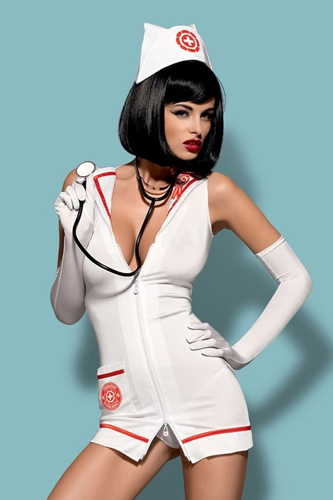 Costum asistenta seducator