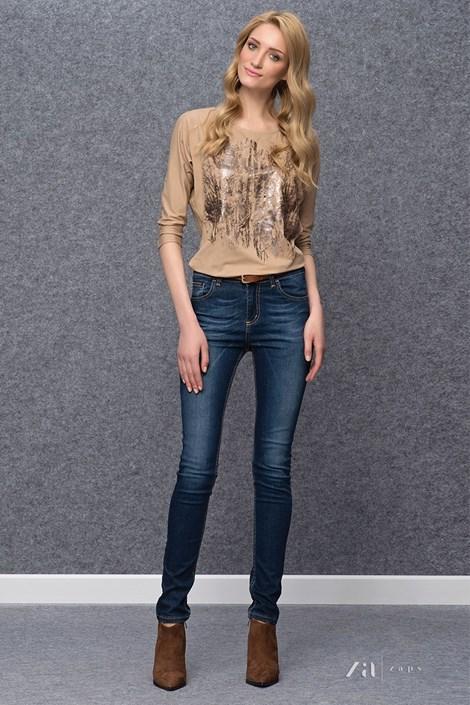 Bluza eleganta Kera Beige