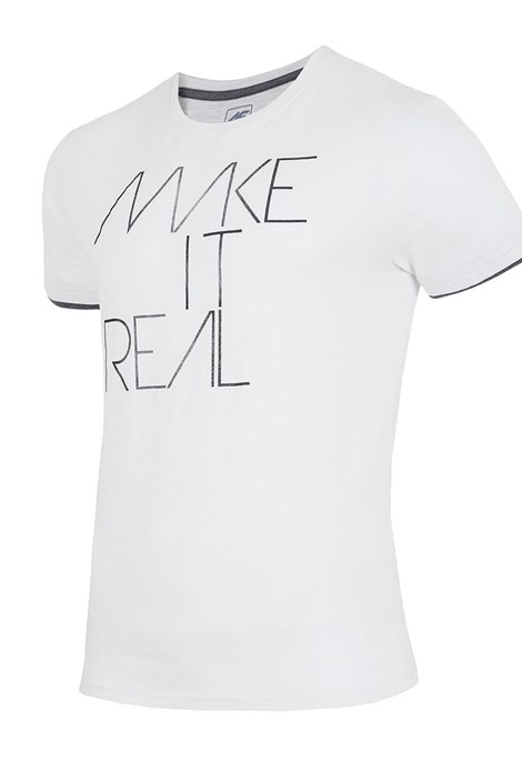 Tricou barbatesc 4F TSM008 White