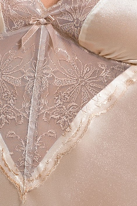 Neglijeu elegant Lotus Cream