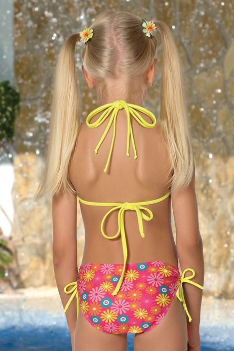 Costum de baie fetite Flower M46
