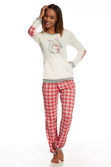 Pijama dama Nuts din bumbac