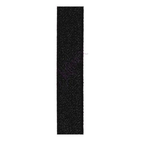Bretele textile 18 mm negre