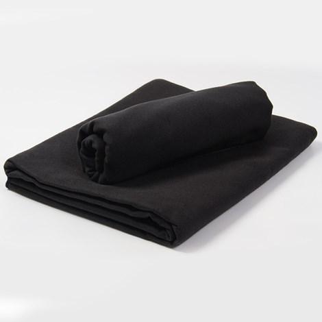 Prosop din material functional, negru
