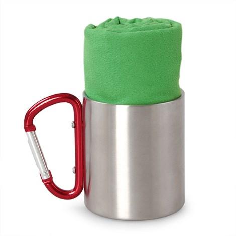 Prosop din material functional, verde