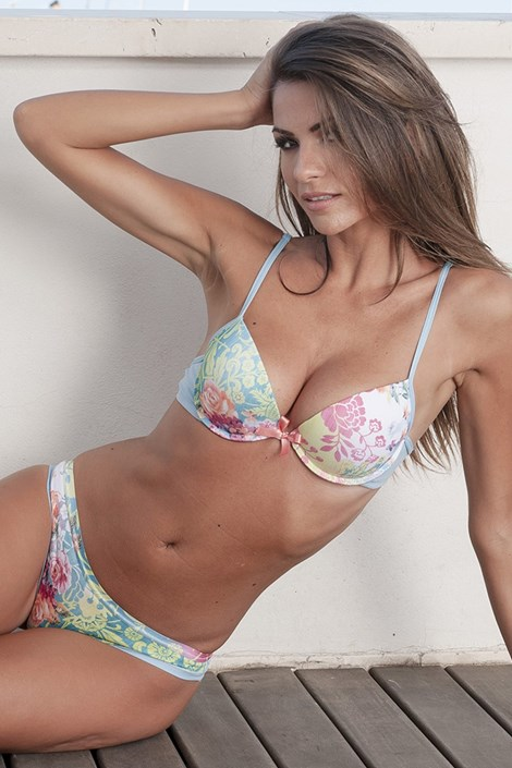 Sutien Tropical Push-Up