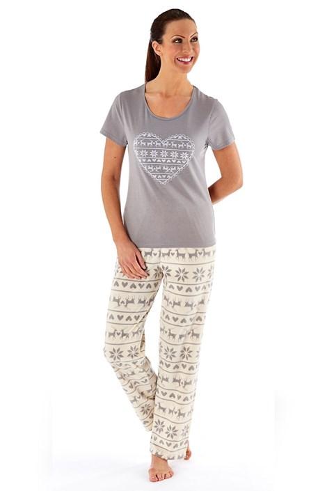 Pijama dama Hearty Winter