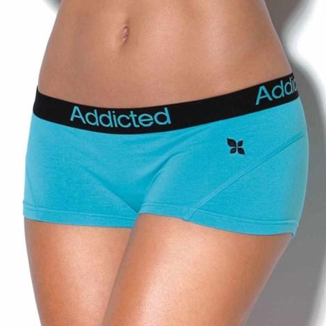 Boxeri Addicted albastri