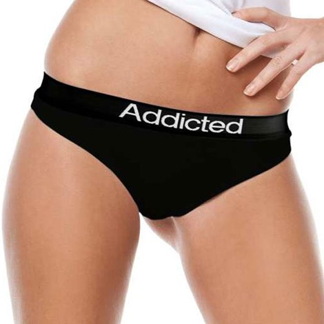 Tanga Addicted negru