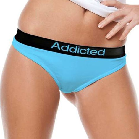 Tanga Addicted albastru