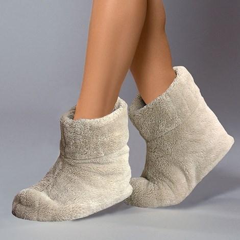 Papuci de casa caldurosi Angora