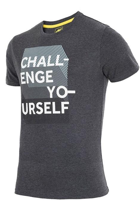 Tricou barbatesc 4F TSM016 Grey