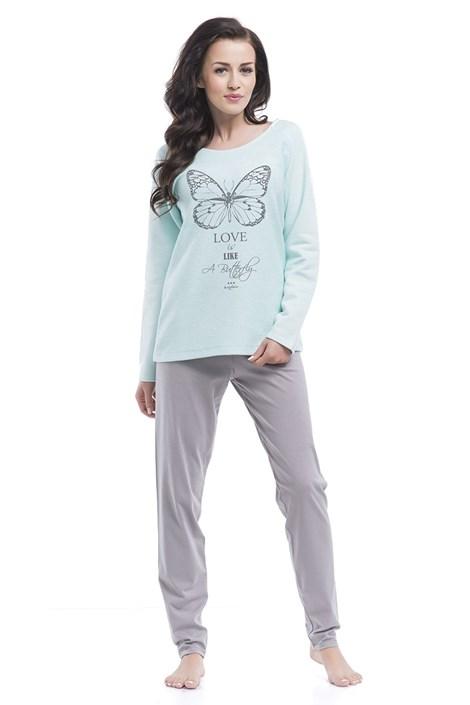 Pijama dama Butterfly Agua