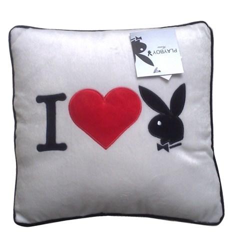 Pernita patrata I Heart Bunny white