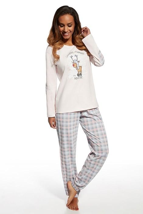 Pijama din bumbac Rudolf