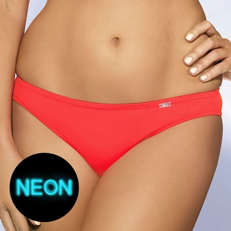 Slip costum de baie Coral Neon