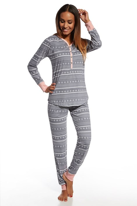 Pijama dama Stars, din bumbac