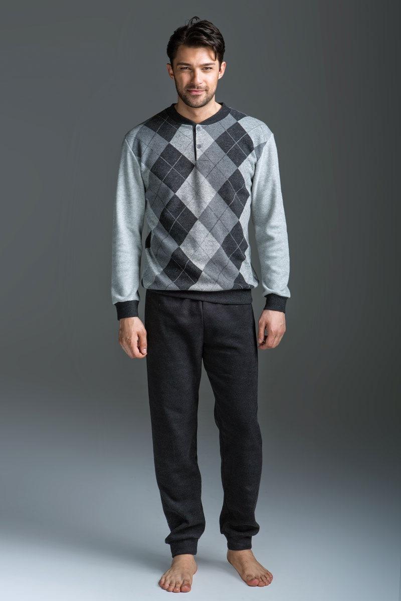Set barbatesc Allessio - bluza  pantalon