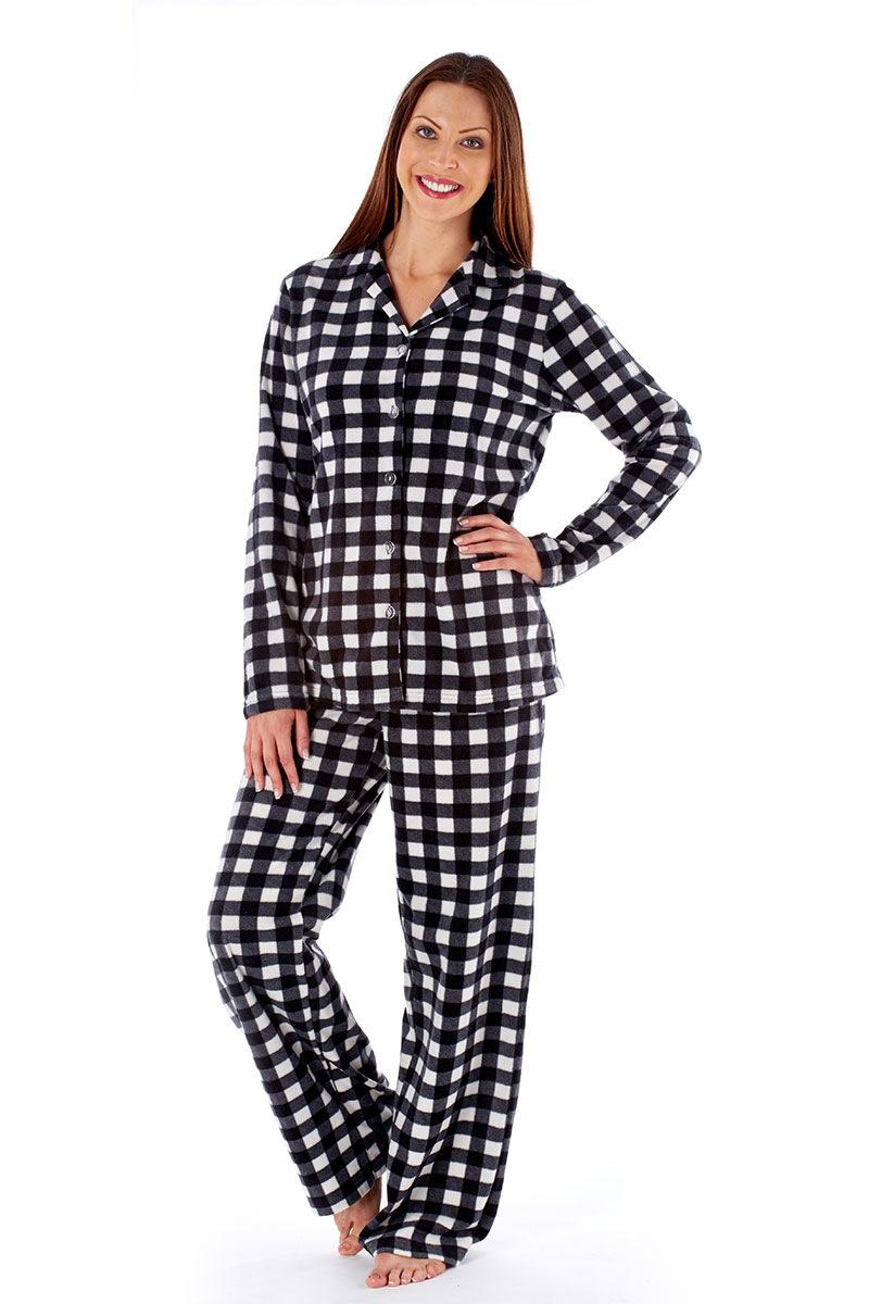 Pijama dama Jodie Black material calduros