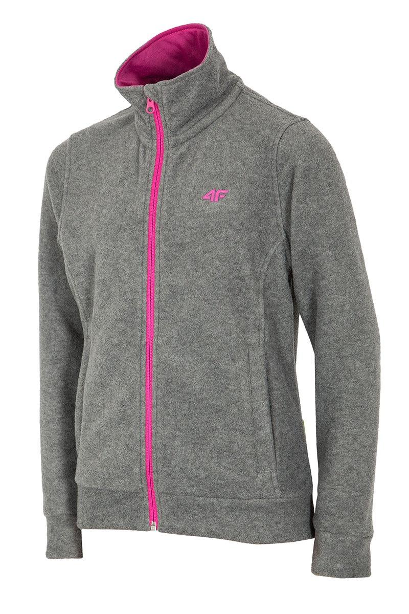 bluza-fleece-grey-4f-pentru-fetite
