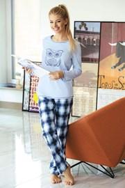 Pijama dama Owl blue