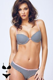 Set sutien Chiara1 cu efect Push-Up si chilot