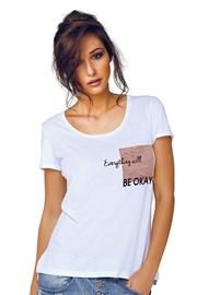 Tricou dama Jadea 4545v3 din modal