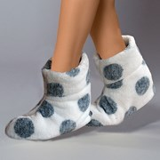 Papuci de casa caldurosi Darcy White