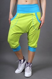 Pantalon sport Electric lemon
