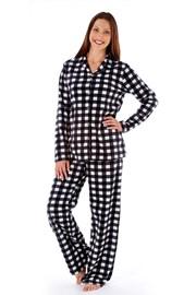Pijama dama Jodie Black, material calduros