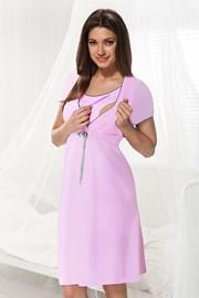 Camasa de noapte alaptare Dorota roz