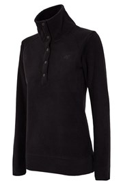 Bluza sport de dama Buttons, material fleece