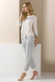 Pijama eleganta Carol, pantalon lung