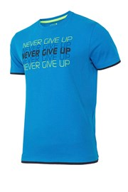 Tricou sport barbatesc Never give up