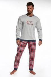 Pijama barbateasca Winter, din bumbac