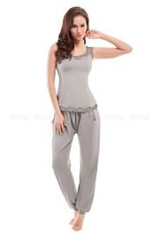 Pijama dama Yasmine Grey