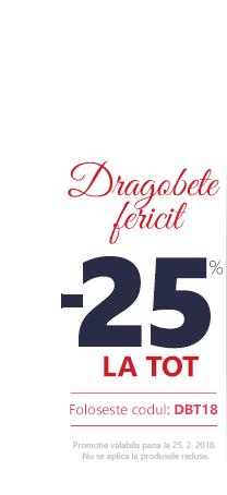 Dragobete -25 %