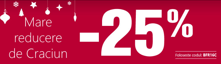 Velká předvánoční sleva až -25 %!
