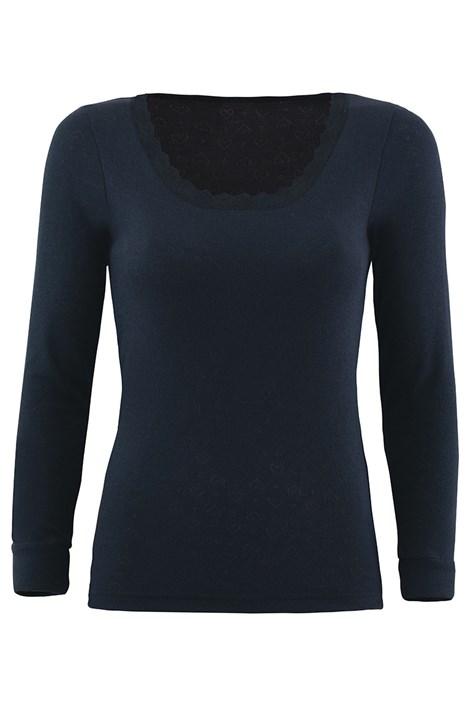 Bluza dama din material functional, maneca lunga