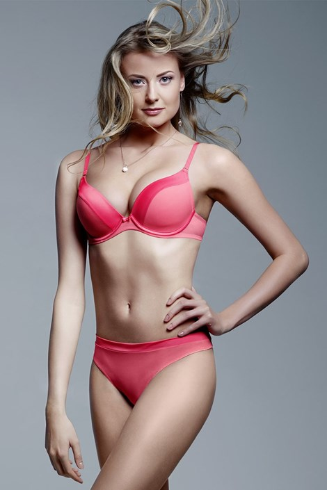 Sutien Coral Push-Up, pernite cu gel